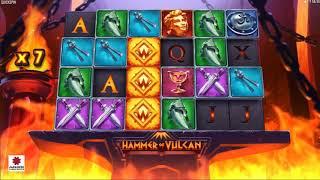【最新スロット】ハンマー・バルカン(Hammer Vulcan)プレイ動画【オンラインカジノ】