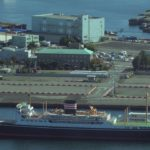 横浜市のカジノを含む統合型リゾート(IR)の誘致予定地である山下ふ頭の現況(2020年10月31日)